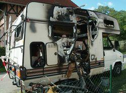 Kühlschrank Wohnwagen : Brandursache: gasbetriebener kühlschrank im wohnmobil u2013 brand feuer.de