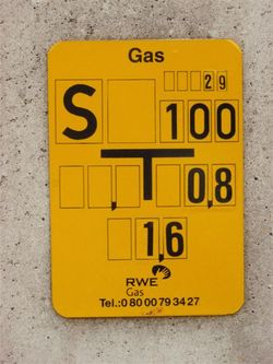 isolierstück in gasleitungen
